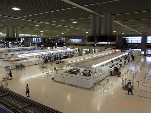 GWの空港 意外とすいてる