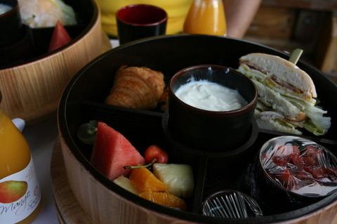アマンサマーパレス ボートトリップの朝食