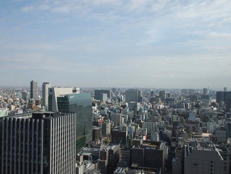 シャングリラから見る東京の空
