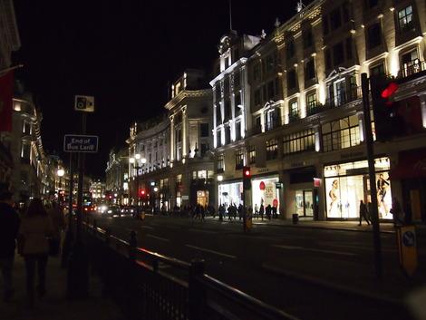 夜のロンドン1