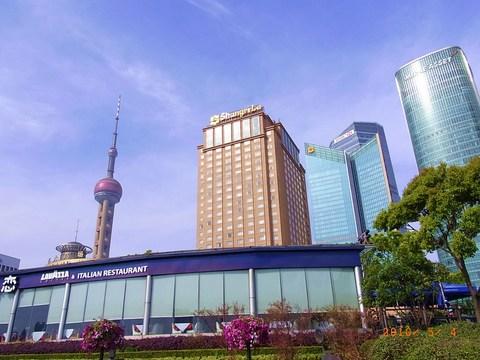 浦東シャングリラ上海 全景