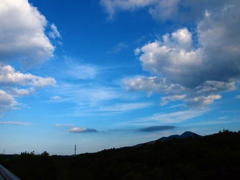 雲海テラスから