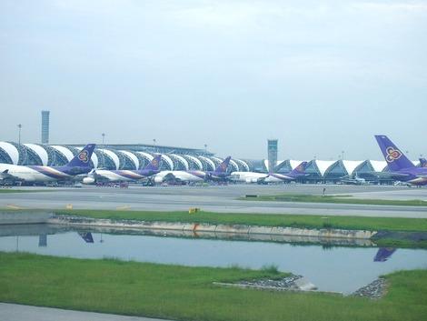 バンコク、スワンナプーム空港