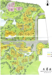 三養荘 敷地図 右半分