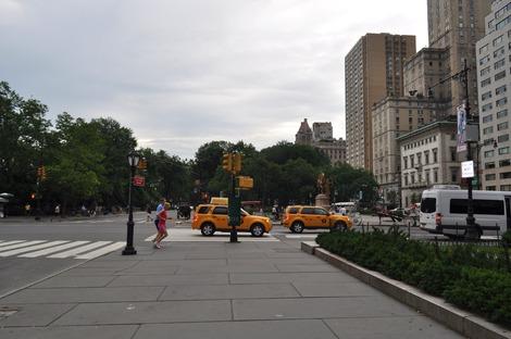 左側がセントラルパーク