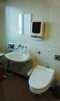 無菌室の個室