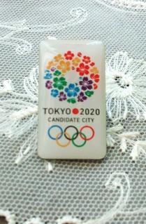 東京オリンピック招致バッチ