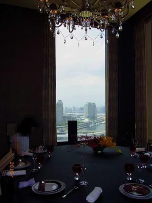 眺めの良い個室