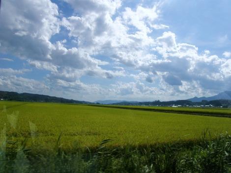タクシーから 遠刈田温泉