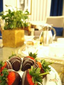 チョコレート苺