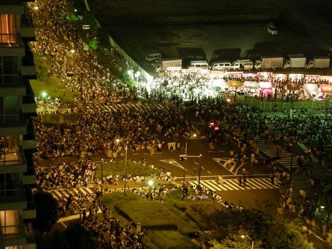 8月1日 横浜花火