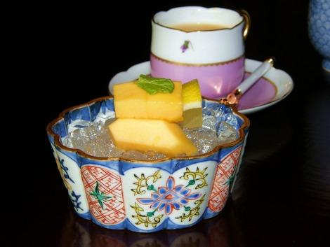フルーツとコーヒー
