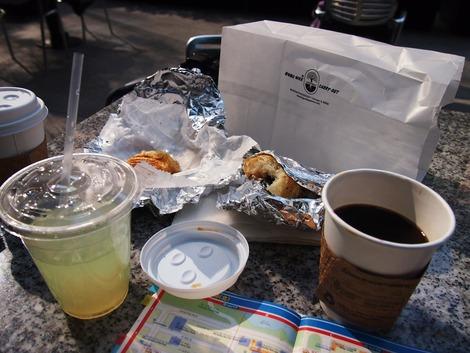 朝食を頂きました。