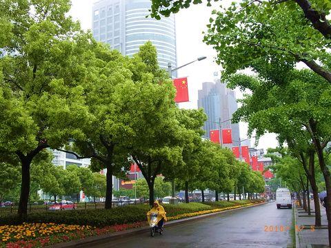 上海街並み