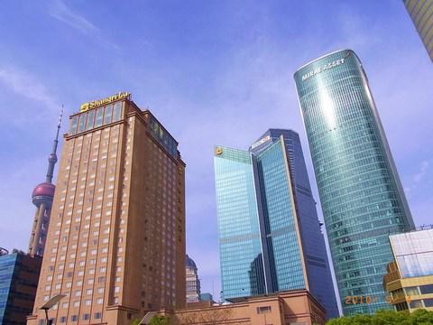 着きました!浦東シャングリラ上海