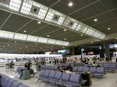 意外とすいている空港