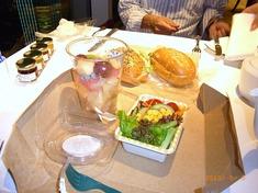スタバの夕食