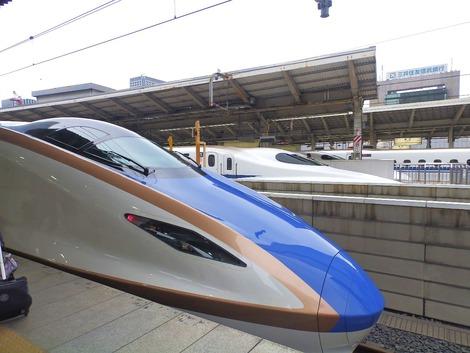 北陸新幹線 「かがやき」