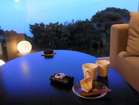 夕方のお部屋