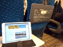 新幹線でドコモwi-fi