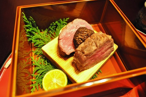 赤沢迎賓館 夕食