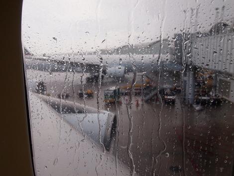 香港は大雨