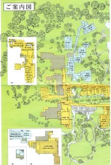 三養荘 敷地図 左半分