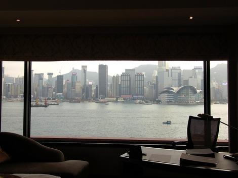 窓からの景色は。。。