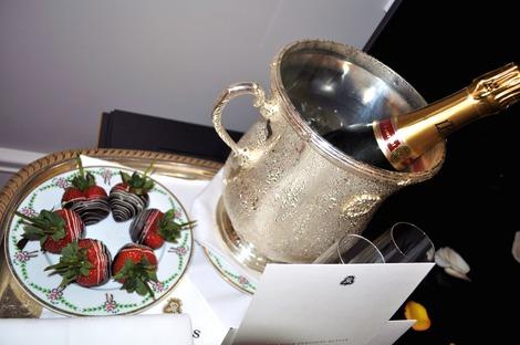イチゴとシャンパン