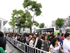 日本館の列1