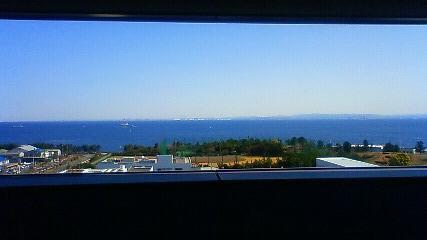 病院からみる海
