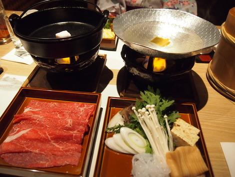 松坂牛のすき焼き