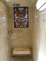 オープンなシャワー