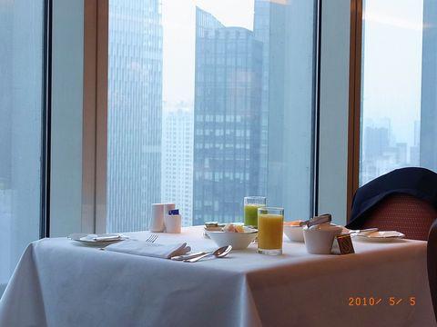 上海3日目 クラブルームでの朝食