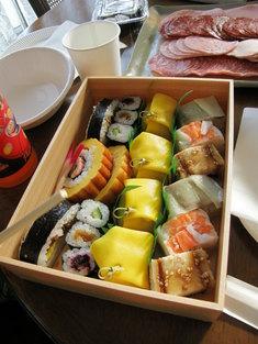 関山のお寿司