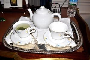 夜のお茶でほっと一息