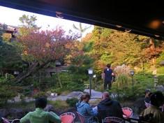 イノダコーヒーのお庭