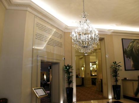 世界で初めて映画を上映したホテル