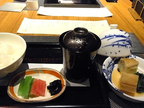 お食事 煮アナゴ
