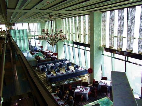 眺めの良いレストラン