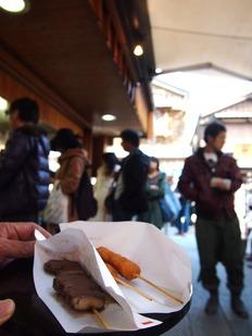串焼き コロッケ