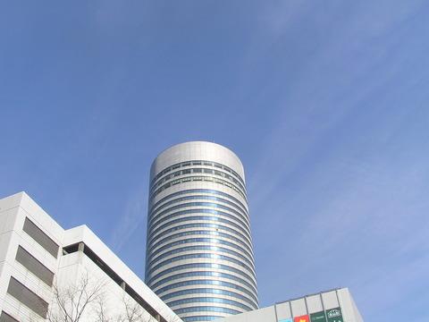 新横浜の青空