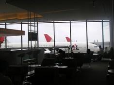 飛行機がこんなに近くに見えます