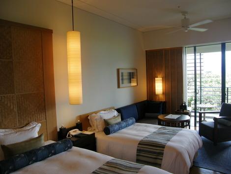 喜瀬別邸のベッドルーム