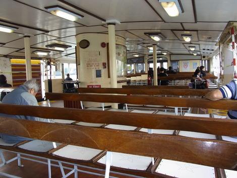 船で九龍から香港島へ
