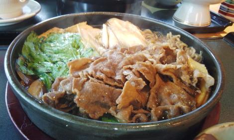 すき焼き定食 1575円