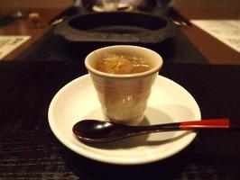 テールと松茸のスープ