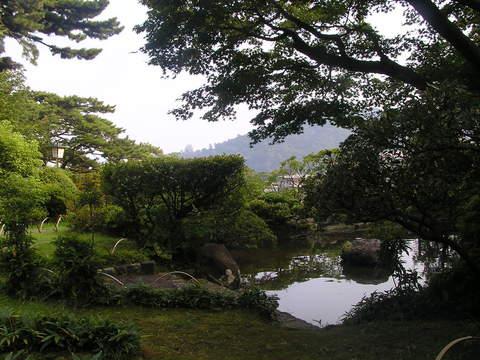 高大なお庭