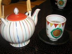 九谷焼のお茶セット