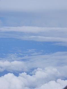 機上からの空